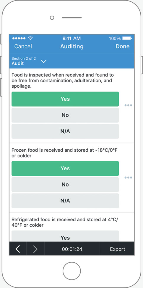 Food Safety Program Template Records Version