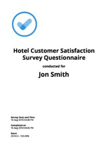 customer satisfaction survey checklist