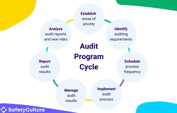 7 stages of the audit plan cycle