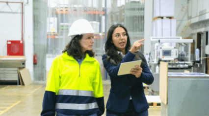 safety managers implementing safety management system with the help of mobile device